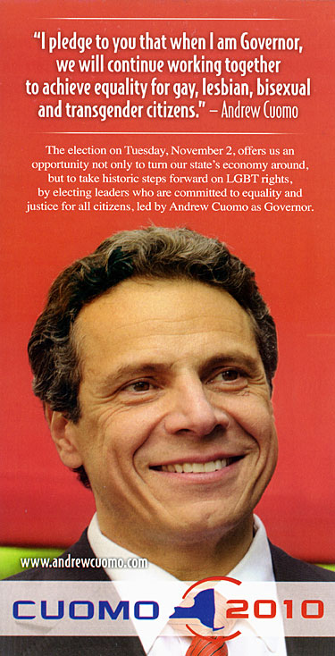 Andrew Cuomo NYS Governor