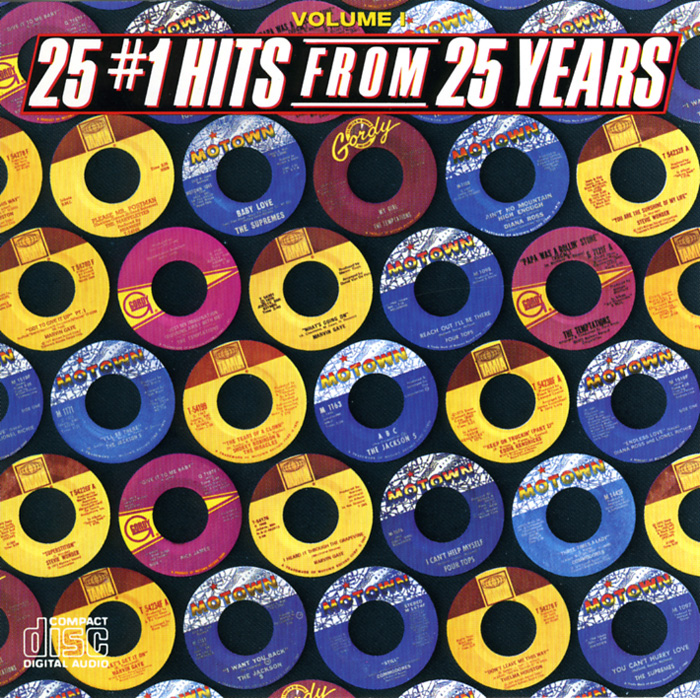 25 Number 1 Hits Motown 25 Years